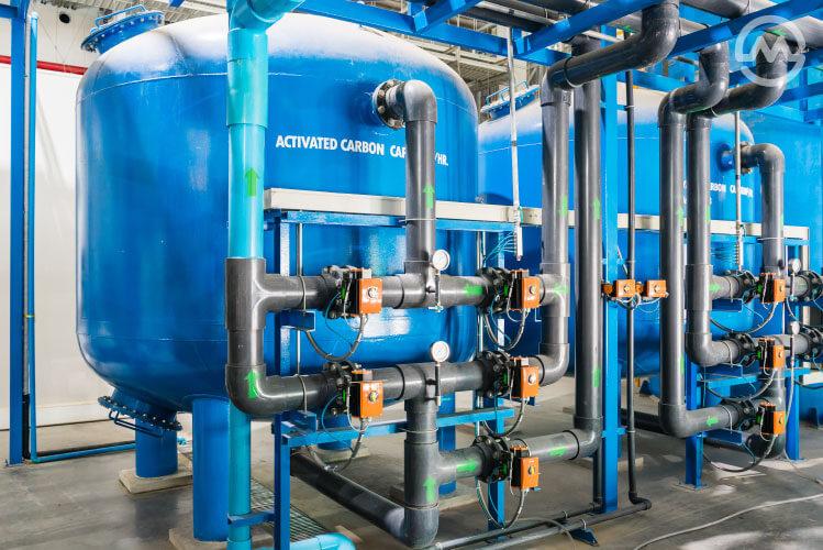 ระบบผลิตน้ำประปา