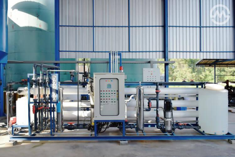 ระบบผลิตน้ำใช้ในโรงงาน