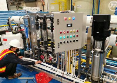 ติดตั้งระบบเครื่องกรองน้ำอุตสาหกรรม RO