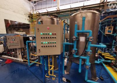 ระบบน้ำโรงงานอุตสาหกรรมระบบ ro