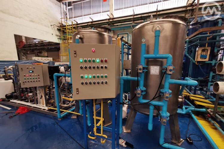ติดตั้งเครื่องกรองน้ำดื่มอุตสาหกรรม