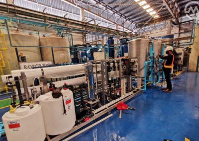 ระบบผลิตน้ำโรงงานอุตสาหกรรม ro