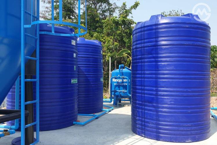 ระบบกรองน้ำประปา
